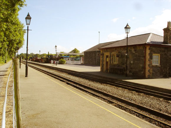 Dinas Station (Welsh Highland Railway)