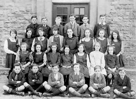 Penygroes County School (Hydref 1922)