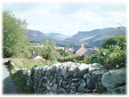 The Nantlle Valley and Snowdon | October 2005 | Gwyn Rowlands